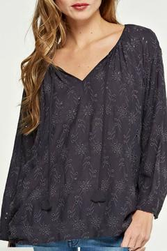 Shoptiques Product: Oversized Eyelet Top