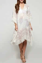 Lovestitch Paisley Kaftan Coverup - Product Mini Image