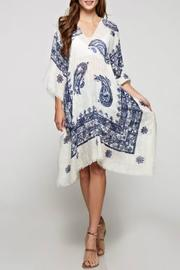 Lovestitch Paisley Print Caftan - Front full body