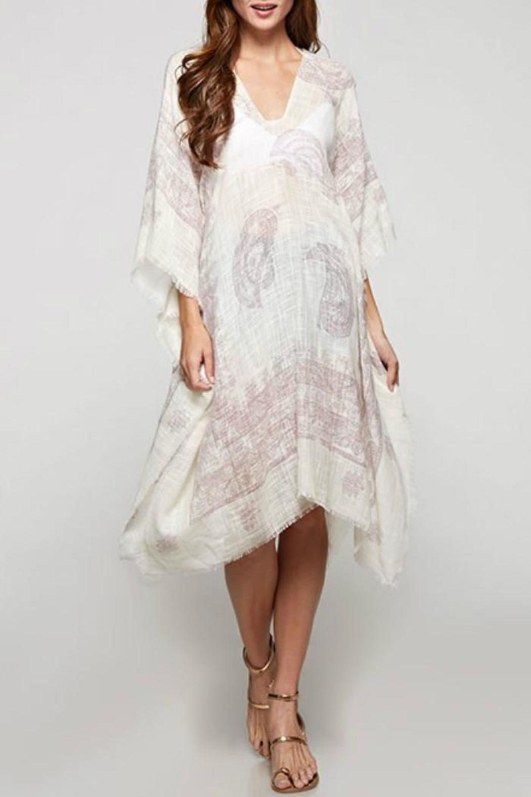 Lovestitch Paisley Print Caftan - Main Image