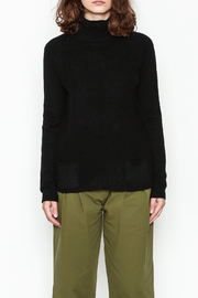 Lovestitch Pocket Turtleneck Pullover - Front full body