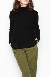 Lovestitch Pocket Turtleneck Pullover - Front cropped