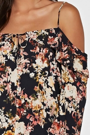 Lovestitch Printed Cold Shoulder - Side cropped
