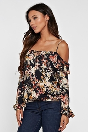 Lovestitch Printed Cold Shoulder - Other
