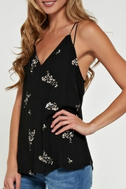 Lovestitch Printed Floral Racerback - Back cropped