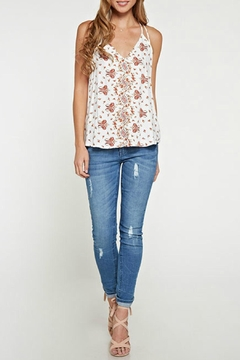 Shoptiques Product: Printed Floral Tank Top