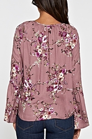 Lovestitch Printed Floral Top - Other