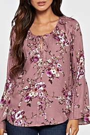 Lovestitch Printed Floral Top - Front full body