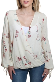 Lovestitch Printed Jacquard Top - Product Mini Image