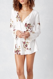 Lovestitch Printed Longsleeve Romper - Product Mini Image