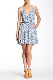 Lovestitch Printed Surplice Sundress - Front cropped