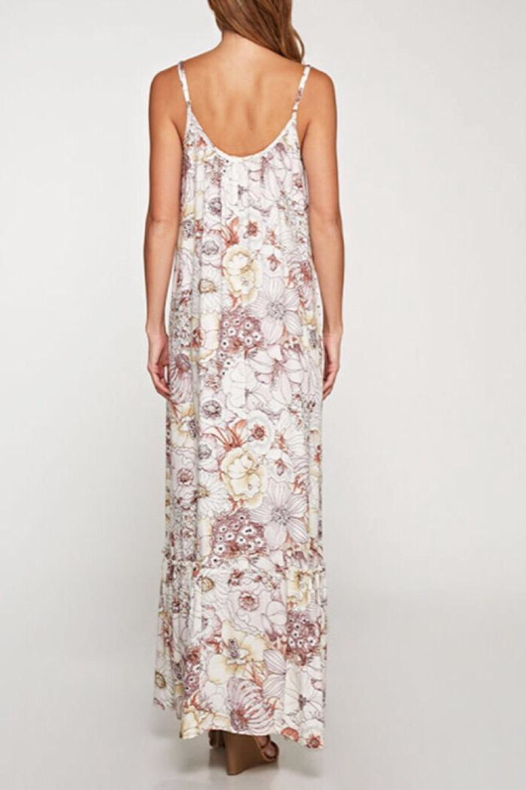 Lovestitch 70's Inspired Maxi - Front Full Image