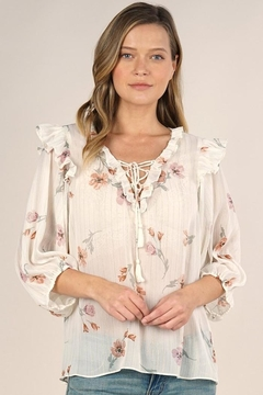 Lovestitch Rohana Floral Top - Alternate List Image