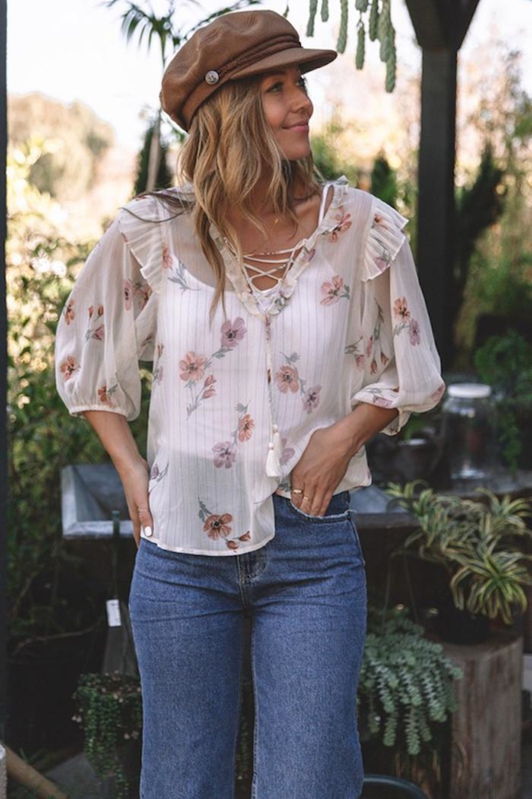 Lovestitch Rohana Floral Top - Main Image