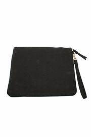 Lovestitch Rope Embroidered Clutch - Front full body