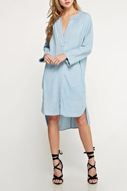 Lovestitch Shirt Dress - Front cropped