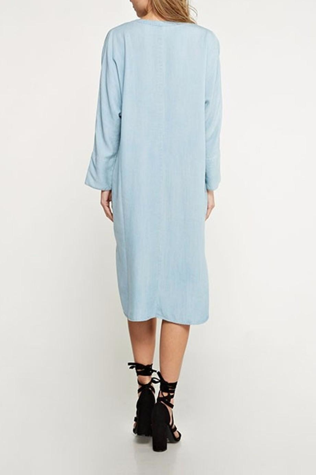 Lovestitch Shirt Dress - Front Full Image