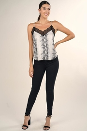 Lovestitch Snake Print Cami - Front full body