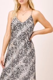 Lovestitch Snake Printed Midi - Side cropped