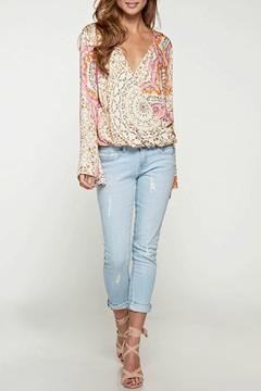 Shoptiques Product: Stamp Paisley Top
