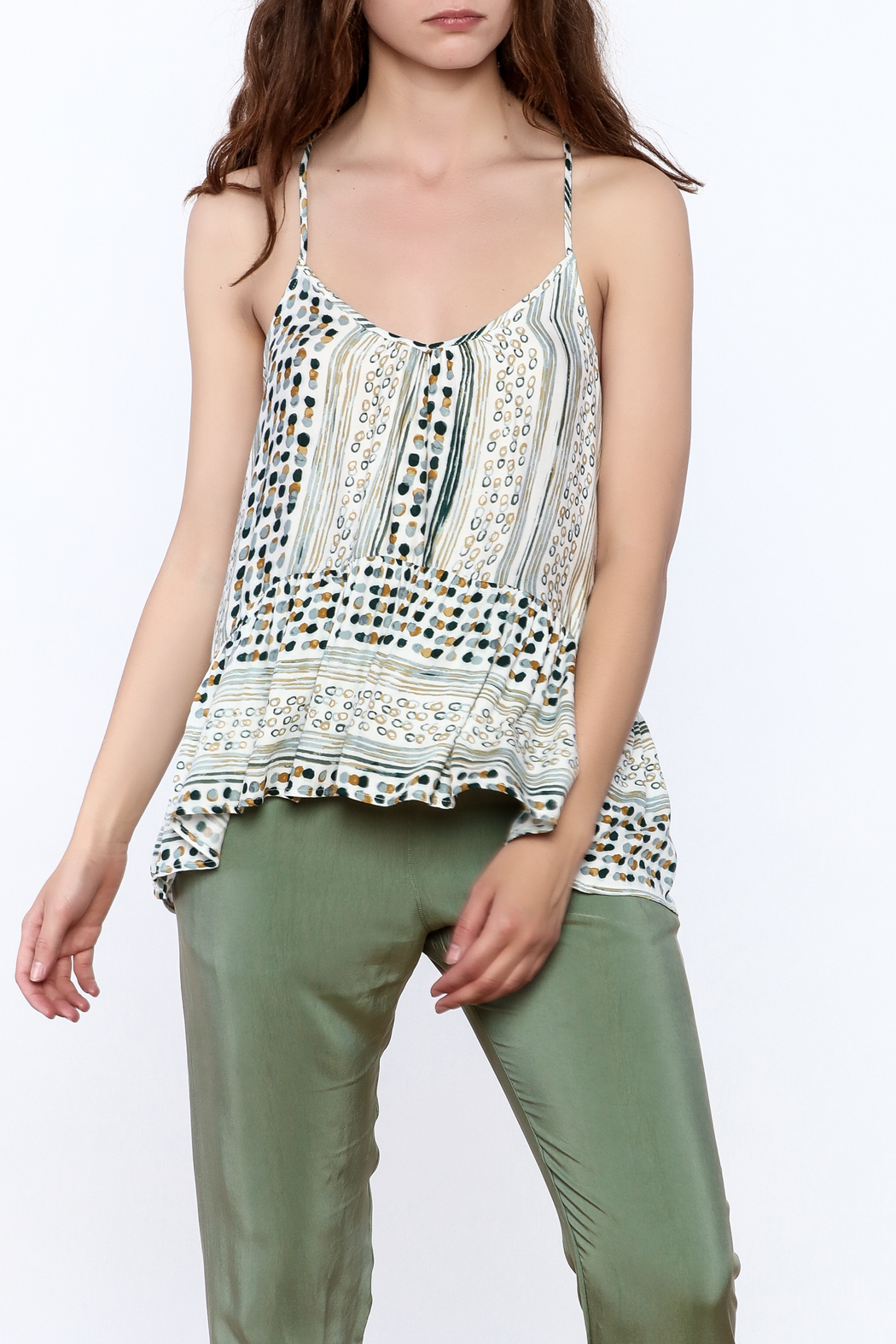 Lovestitch Strappy Cami Top - Front Cropped Image