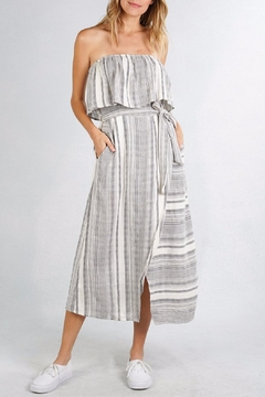 Shoptiques Product: Striped Strapless Dress