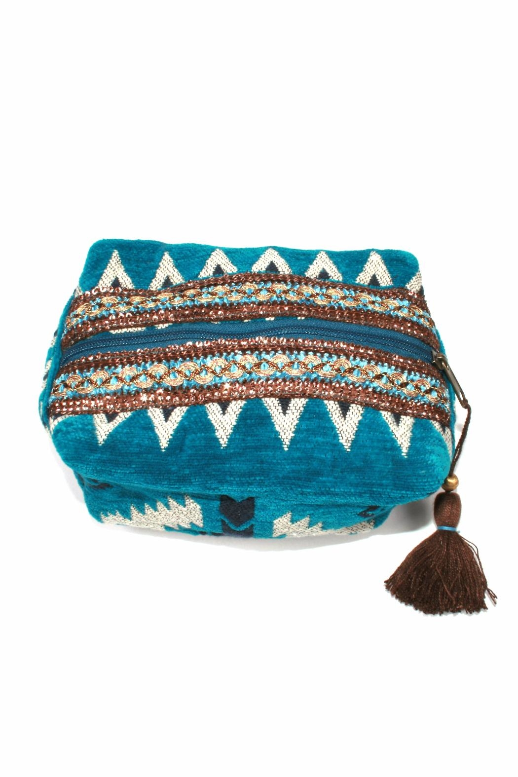 Lovestitch Tassel Makeup Bag - Main Image