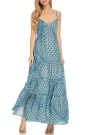 Lovestitch Teal Tiered Maxi - Product Mini Image