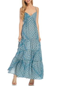 Shoptiques Product: Teal Tiered Maxi