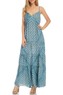 Shoptiques Product: Teal Sleeveless Maxi