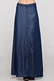 Lovestitch Tencel Button Front Maxi Skirt - Product Mini Image