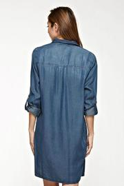 Lovestitch Tencel Shirt Dress - Front full body