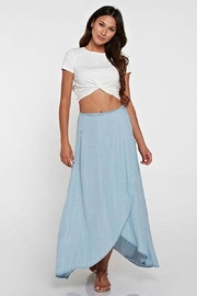 Lovestitch Tencel Wrap Skirt - Product Mini Image