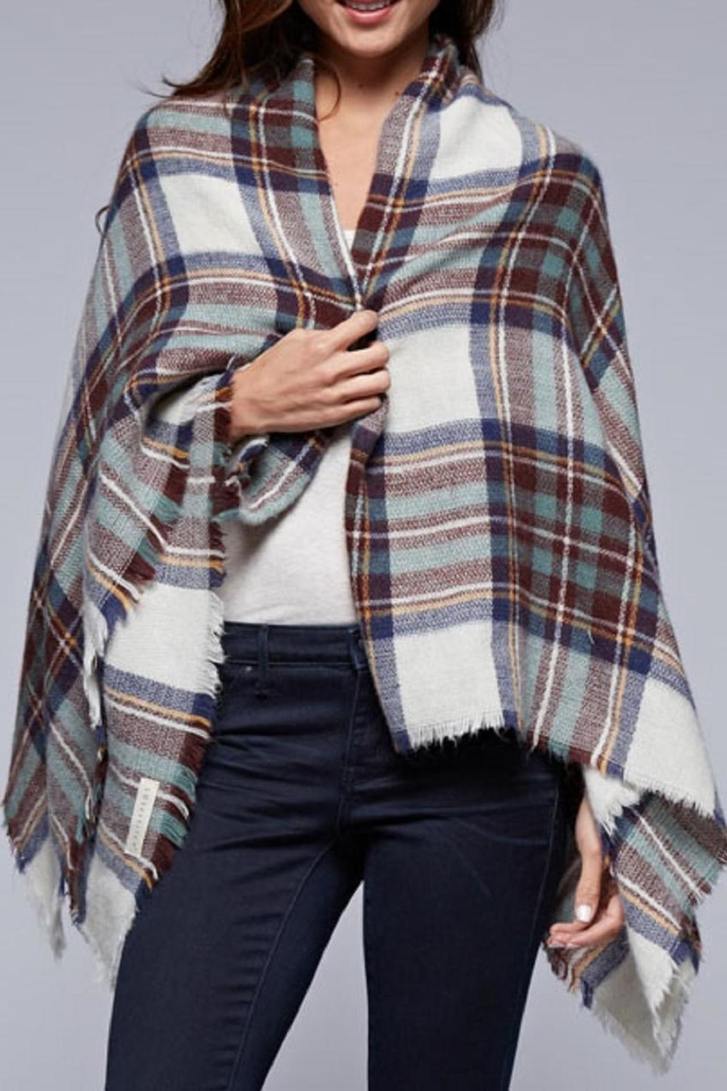 Lovestitch The Brit Blanket-Scarf - Main Image