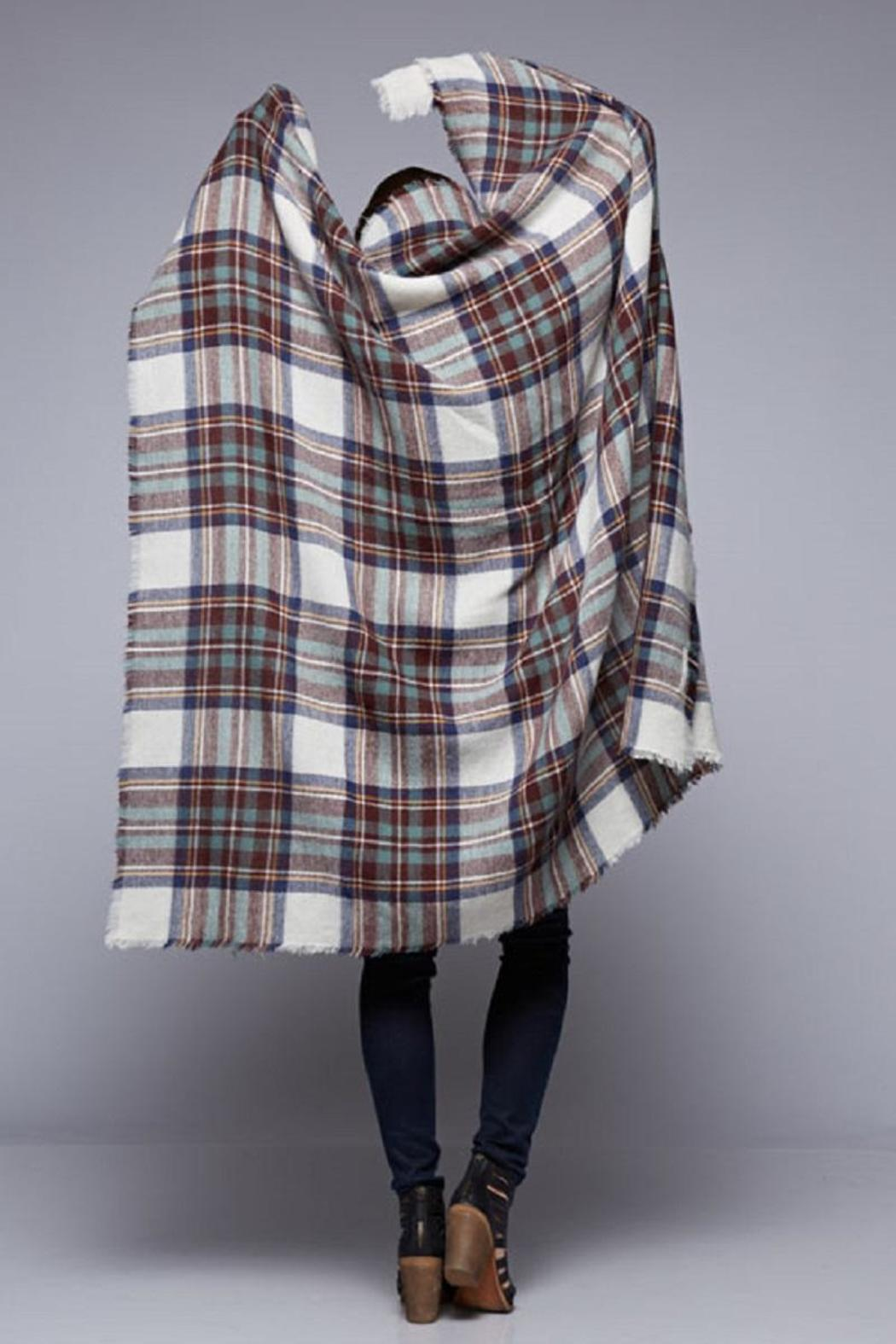 Lovestitch The Brit Blanket-Scarf - Front Full Image