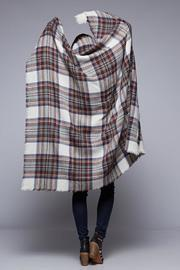 Lovestitch The Brit Blanket-Scarf - Front full body