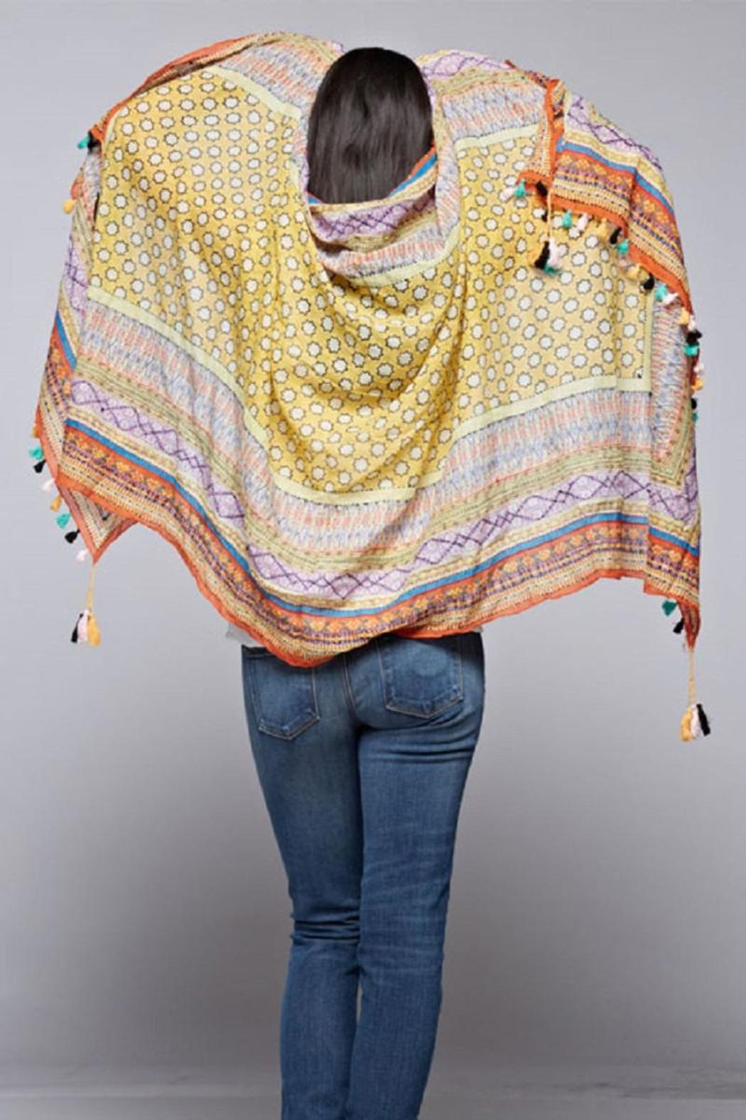 Lovestitch The Charlize Scarf - Back Cropped Image