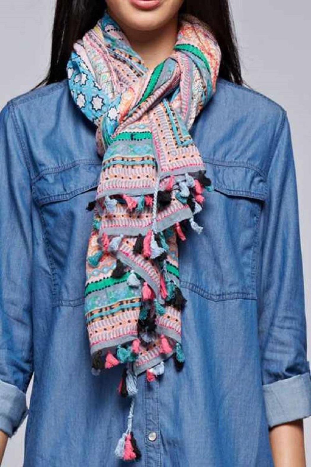 Lovestitch The Charlize Scarf - Front Cropped Image