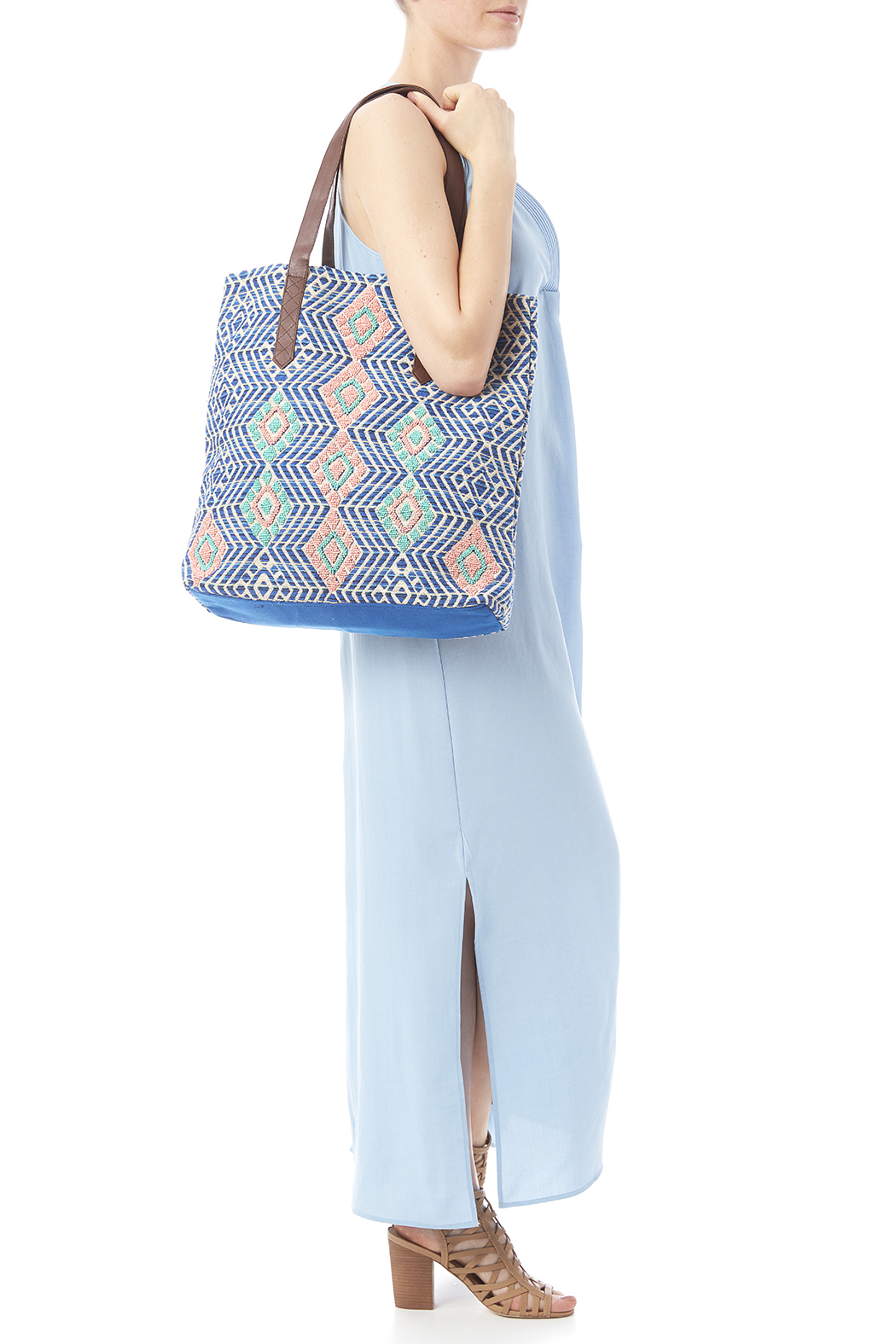 Lovestitch The Desirae Tote - Back Cropped Image