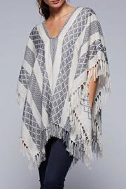 Lovestitch The Jacquard Poncho - Product Mini Image