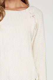 Lovestitch The Kim Sweater - Back cropped