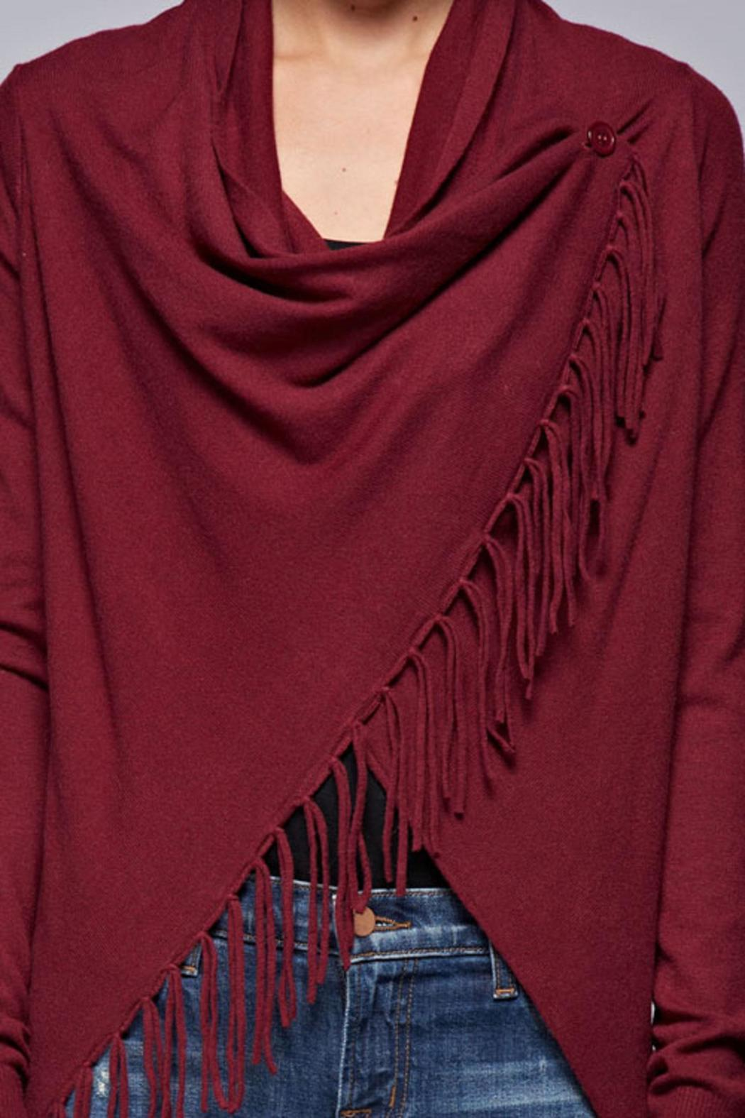 Lovestitch The Layla Cardigan - Side Cropped Image