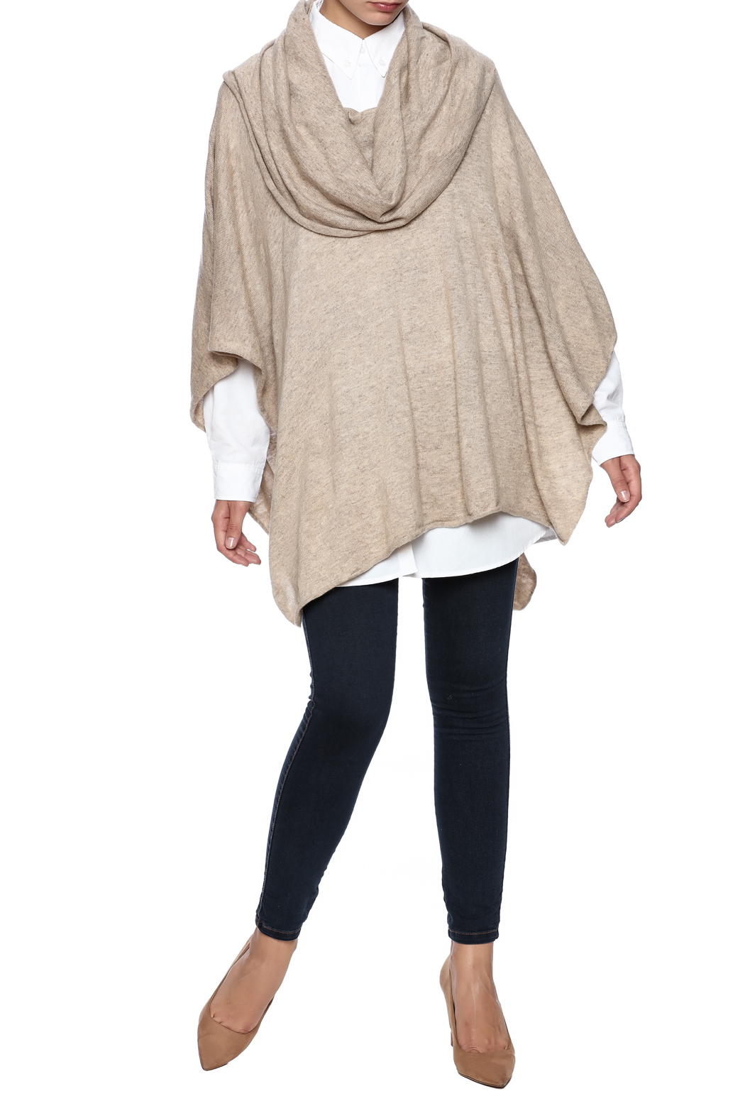 Lovestitch The Selma Poncho - Front Full Image