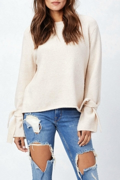 Shoptiques Product: Tie Cuff Sweater