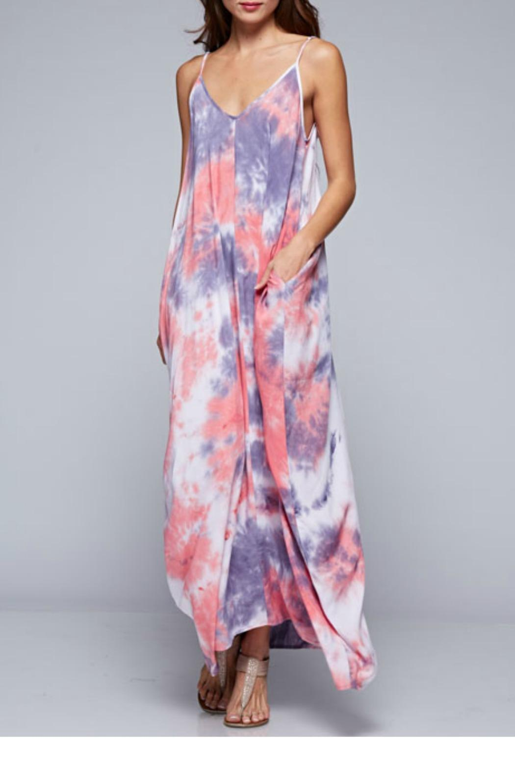 Lovestitch Tie Dye Maxi Dress From Chicago By Blush Boutique
