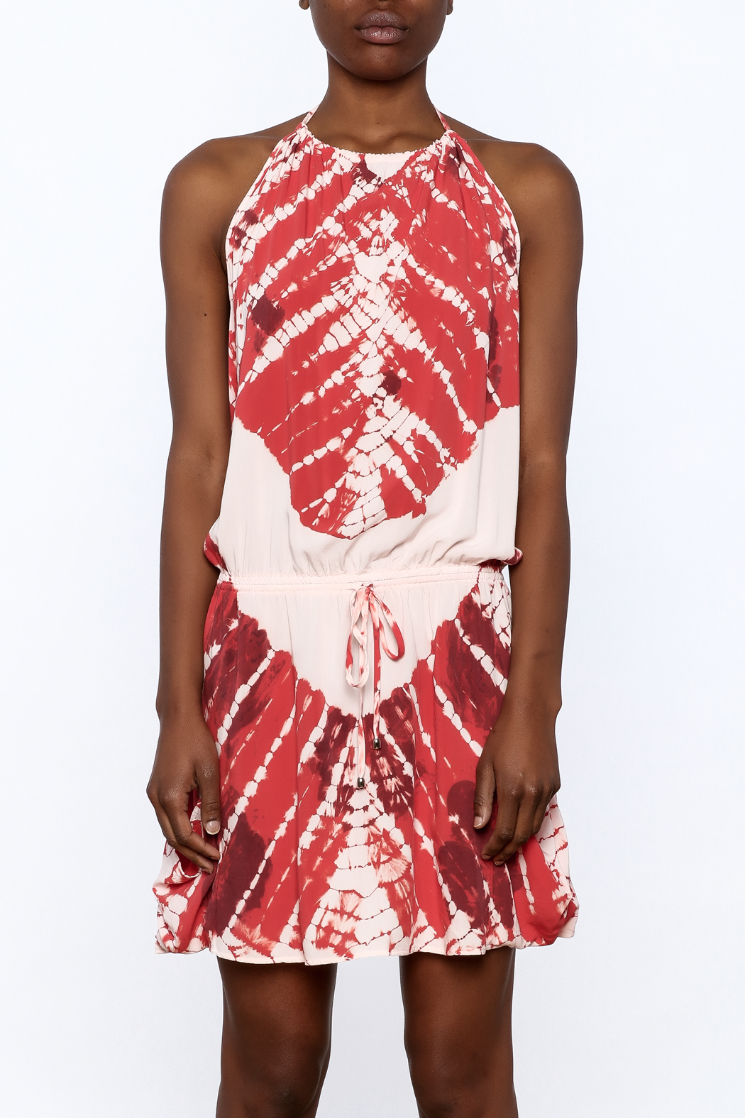 Lovestitch Tie-Dye dress - Side Cropped Image