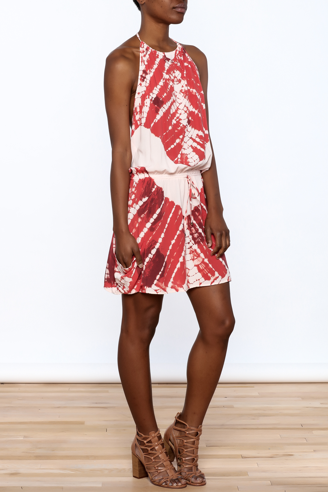 Lovestitch Tie-Dye dress - Front Full Image