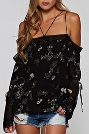 Lovestitch Floral Off-Shoulder Top - Product Mini Image