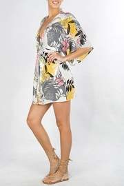 Lovestitch Tropical Floral Coverup - Side cropped