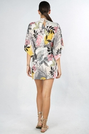 Lovestitch Tropical Floral Coverup - Front full body